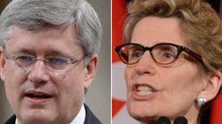Wynne's Full-Court Press For Harper