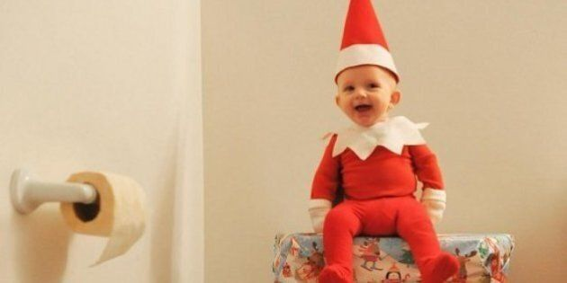 Rock The Elf: Dad Turns Four-Month-Old Son Into Cutest Elf On The