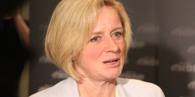 Alberta NDP Premier Rachel Notley