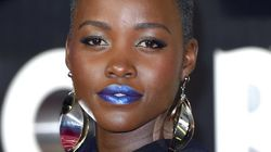 Lupita Nyong'o's Blue Lipstick Is Out Of This