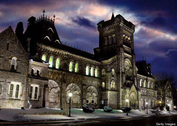 U of T Fossil Fuel Committee Recommends Huge