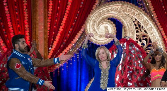 Laureen Harper Goes Bollywood At Brampton Campaign