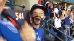 'Jose Bautista' Kid Times Home Run Swing And It Is