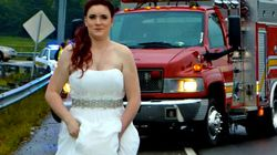 This Paramedic Rescued Her Father On Her Wedding