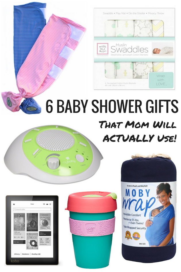 6 Baby Shower Gifts That Mom Will Actually
