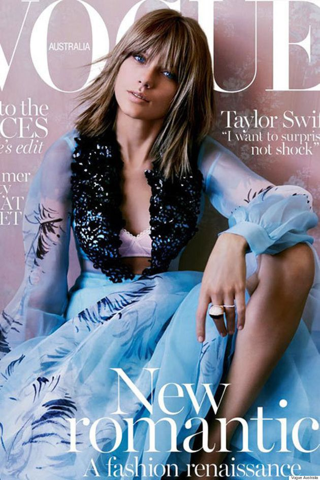 Taylor Swift Covers Vogue Australia's November