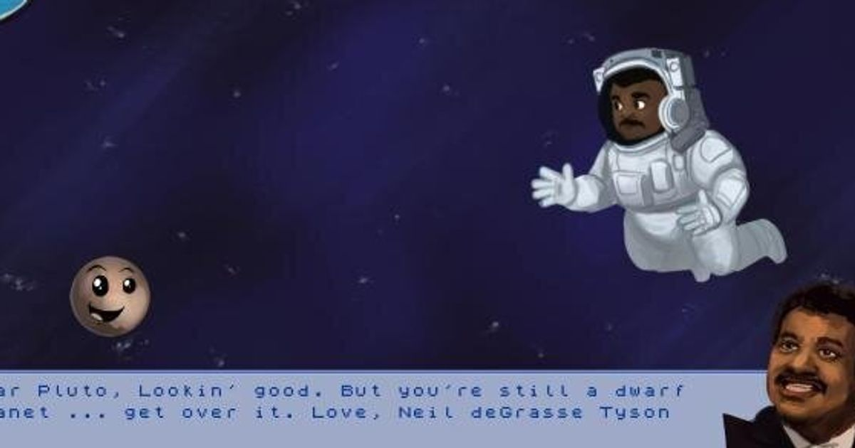 Neil Degrasse Tyson Vs Pluto The Ultimate Showdown And Video Game