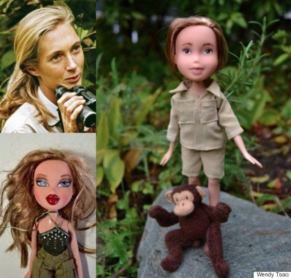 Wendy Tsao, B.C. Artist, Wipes Makeup Off Dolls To Create Real-Life