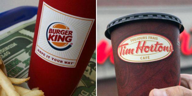 Tim Hortons, Burger King Become Restaurant Brands