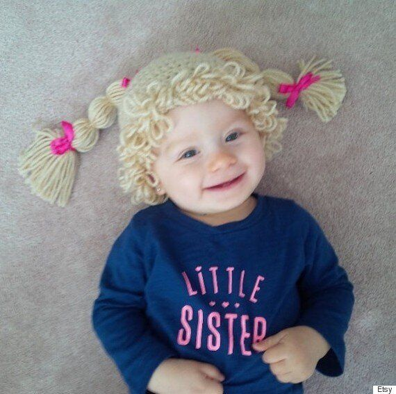 Cabbage Patch Doll Costume: This Is The Latest Baby Costume