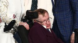 Stephen Hawking Joins Stars On Red