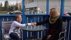 Grade 6 Student Grills Her Local Federal Election
