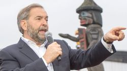 Mulcair Says He Doesn't Pay Any Attention To