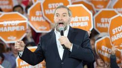 Mulcair Says He's The Only Leader That Would Stop