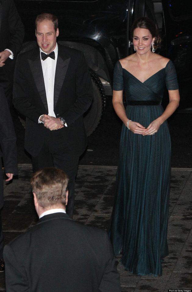 Kate Middleton Turns Heads In Elegant Jenny Packham Dress During Last Night In New