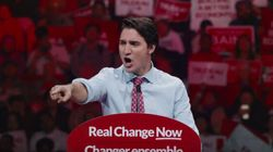 New Liberal Ad Shows Trudeau Railing Against Harper's 'Politics Of