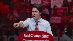 New Liberal Ad Shows Trudeau Railing Against Harper's 'Politics Of