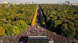 Massive March In Berlin Against Transatlantic Trade