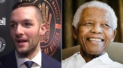 Leafs Goalie Has No Idea Who Nelson Mandela