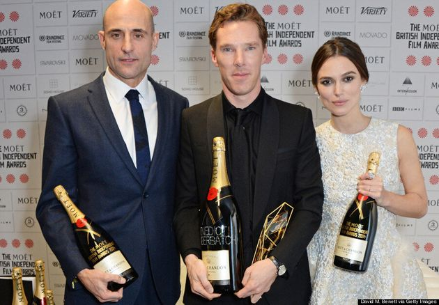 Benedict Cumberbatch And Sophie Hunter Are Red Carpet Stars At British Independent Film