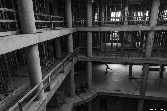 The Time An Abandoned Nova Scotia Hotel Became A Skateboarder's