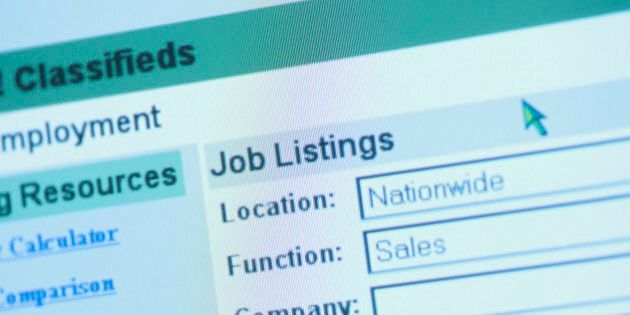 Online employment classifieds search
