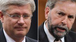 Mulcair: Harper Played 'Like A Chump' In TPP