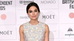 Keira Knightley Wore A Dress Trimmed With Stork