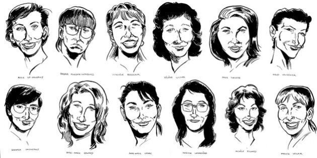 Evan Munday Illustrates The Women Of École Polytechnique, In