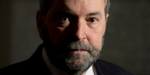 Thomas Mulcair's Gun Registry Comments Cause Confusion Within