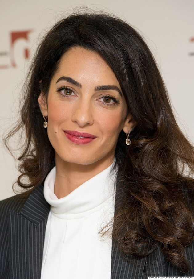 Amal Clooney Wears A Dolce & Gabbana Power Suit In