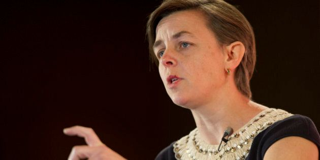 K. Kellie Leitch, Canada's minister of Labour and minister of Status of Women, speaks during an interview...
