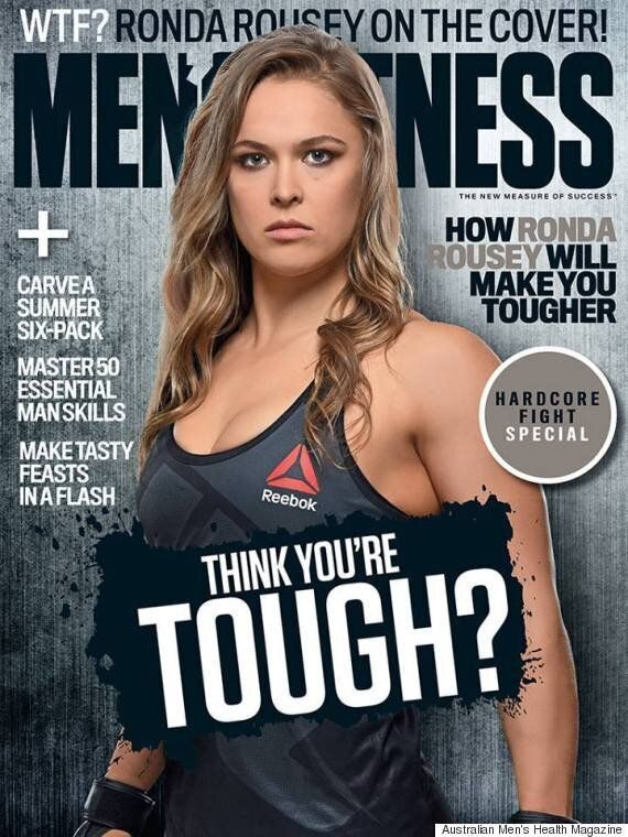 Ronda Rousey Is The First Woman To Cover A Men's Fitness