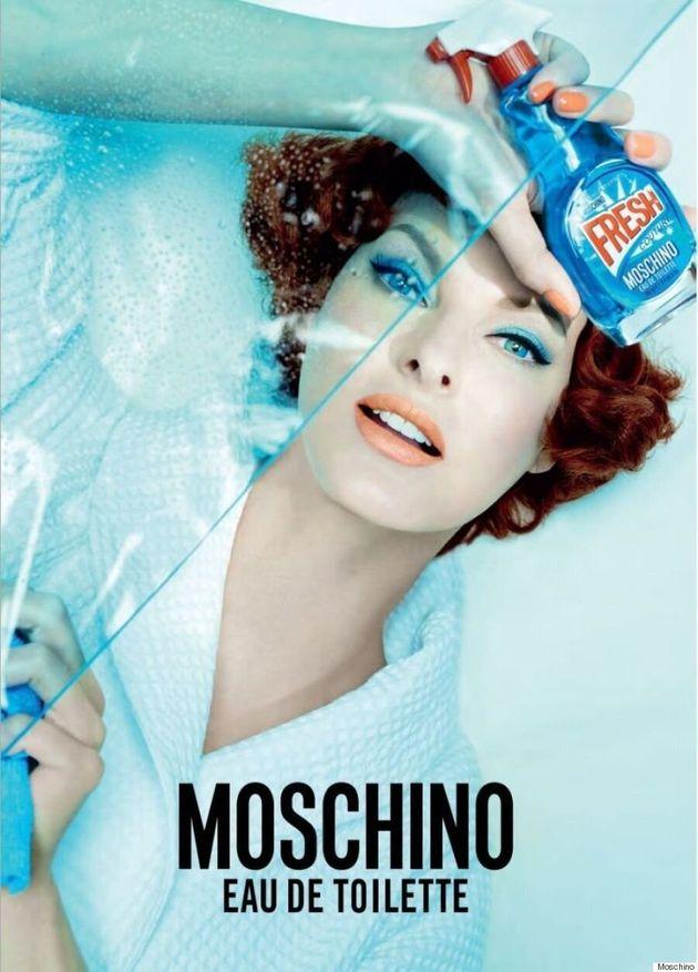 Linda Evangelista Gets Fresh For Moschino's New Fragrance