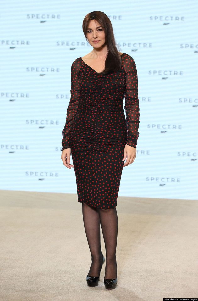 Monica Bellucci Looks Ageless At 'Spectre'