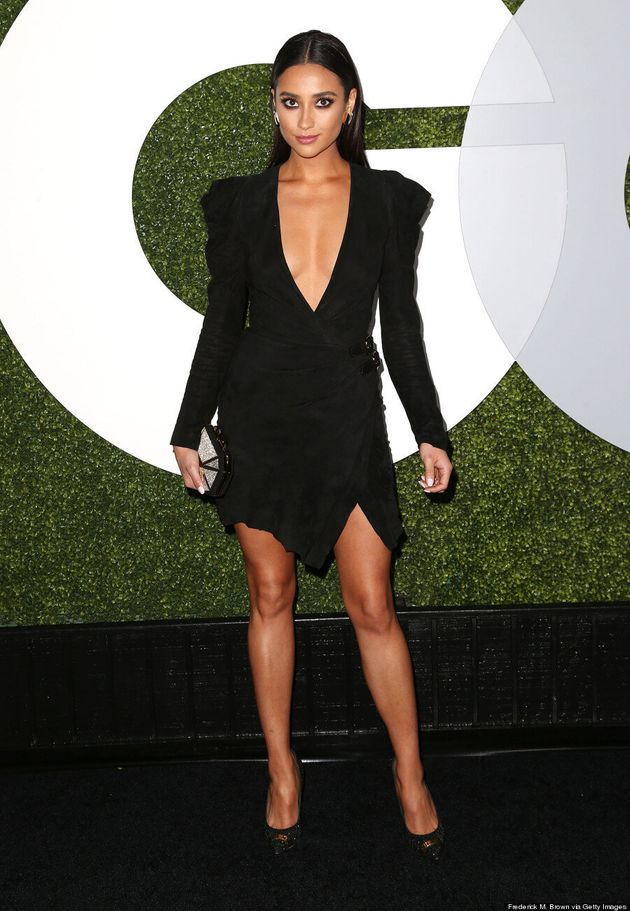 Shay Mitchell Steals The Spotlight At GQ Men Of The Year