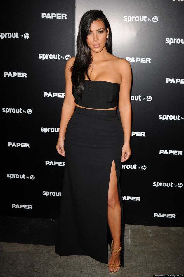 Kim Kardashian Looks Super Fly At Paper Magazine