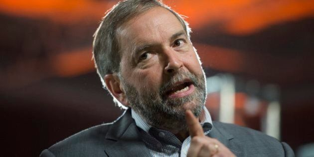 Federal Election 2015: Mulcair Says Canada Not Ready For 'Demographic