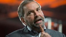 Mulcair Says Canada Not Ready For 'Demographic
