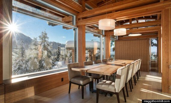 You Can Ski Right From This Whistler Home Onto The Slopes