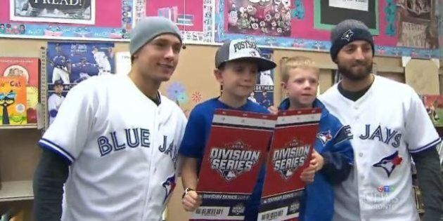 Toronto Blue Jays Surprise 9-Year-Old Who Lost His