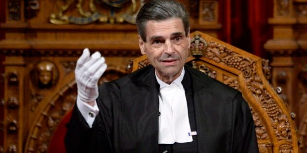 Senate Speaker Pierre Claude Nolin To Colleagues: Don't Be 'Blinded' By Partisan