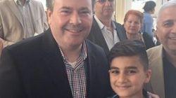 Jason Kenney Praises Refugee Boy's 'Perfect, Unaccented