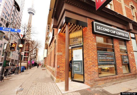 Second Cup's Future Concept Store Unveiled As Company