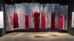 Haunting Red Dresses Mark MMIW Day Of