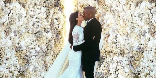 Kim Kardashian Wedding Pic Is The Most Liked Instagram
