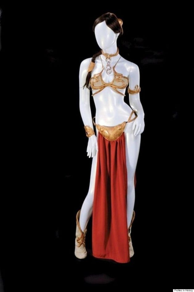 Princess Leia's 'Star Wars' Bikini Sells For $96,000 At