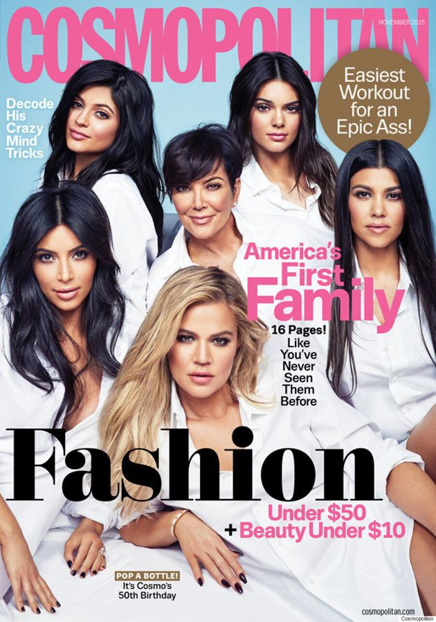 The Kardashian-Jenner Girls Cover Cosmopolitan's 50th Anniversary