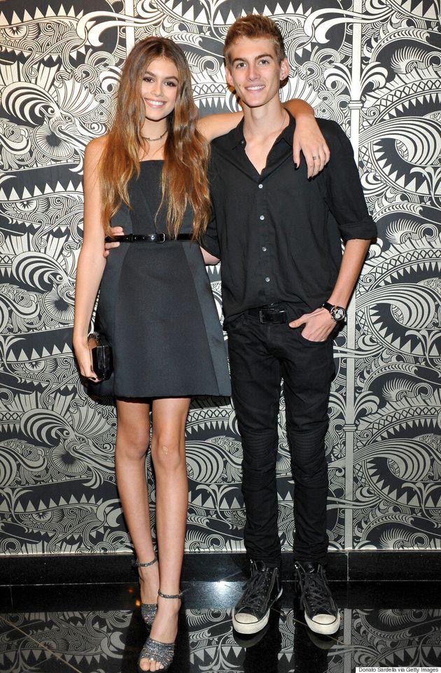 Kaia Gerber Rocks Little Black Dress At Teen Vogue Young Hollywood