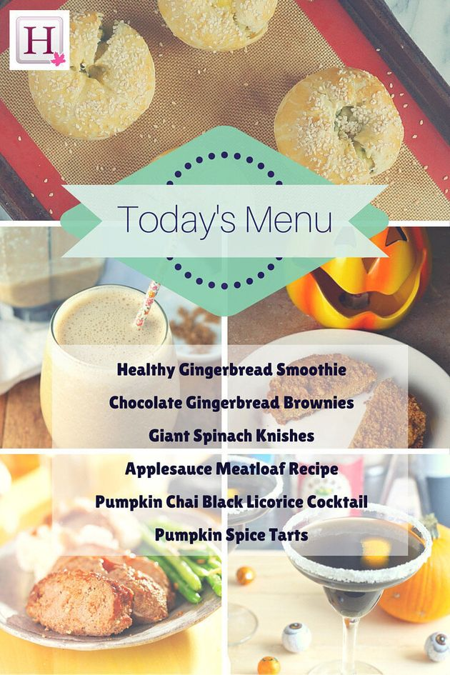 Monday Meal Ideas From The HuffPost Canada Living